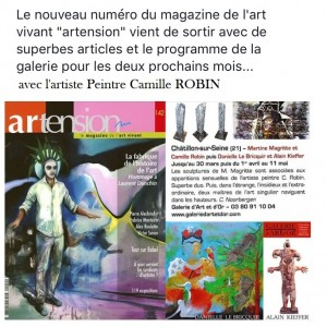 Article de Presse Artension Mars 2017